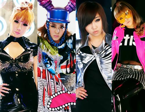 【2NE1】女性版BIGBANG!ノれるK-POPならコレ!