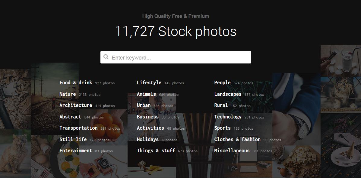 無料で写真素材が手に入るサイト【1万点以上】